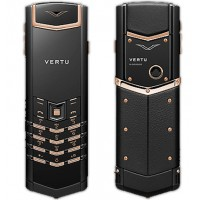 Vertu Signature S Design Pure Black Gold