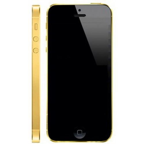 iPhone 5 Gold Black