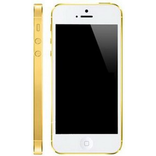 iPhone 5 Gold White
