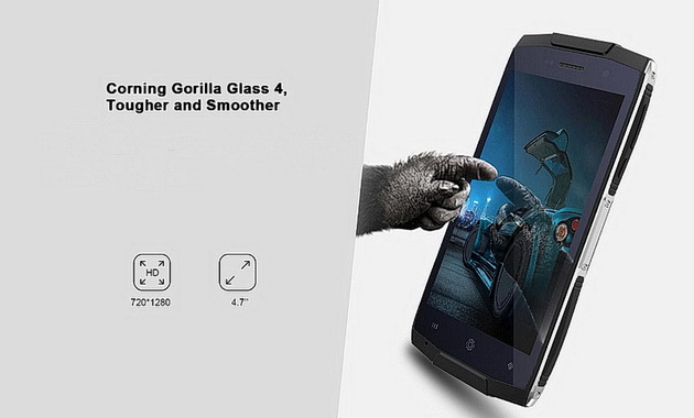 Zoji Z6 Orange установлено стекло Corning Gorilla Glass 4