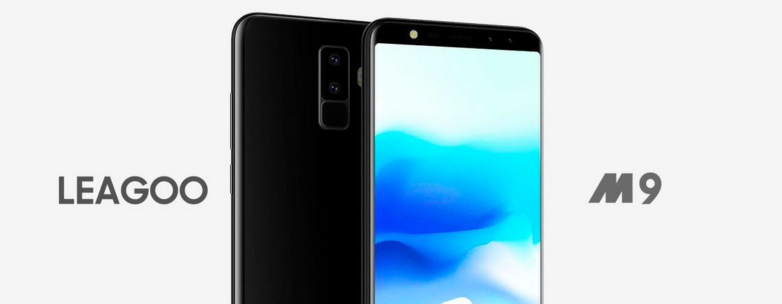 Leagoo M9 Black 2/16Gb